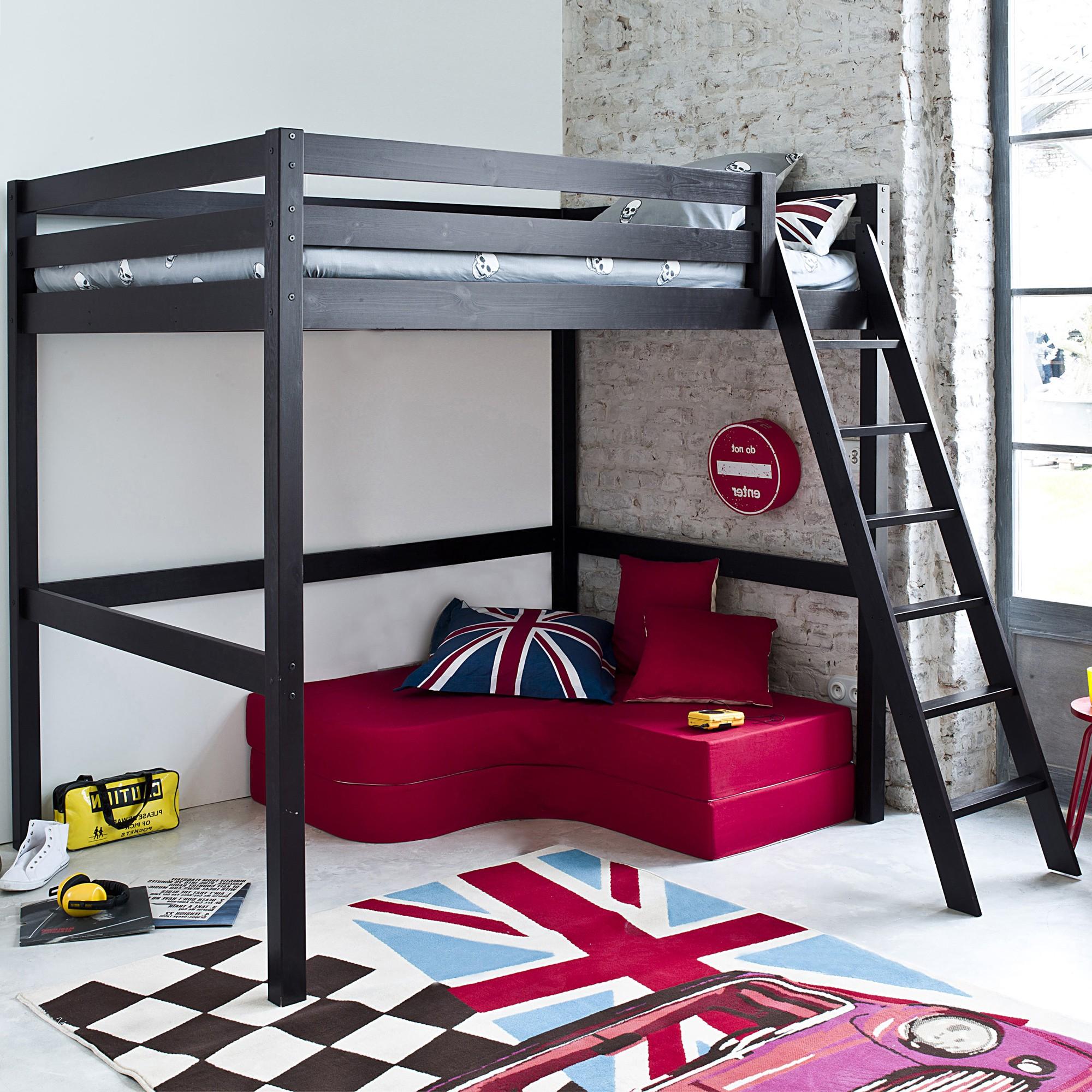 Canapé H Et H Beau Photographie Lit Mezzanine 2 Places Avec Bureau Lit Mezzanine 2 Place Lit