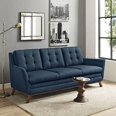 Canapé Helly Bobochic Beau Photographie Divano Roma Furniture Mid Century Modern Linen Fabric Small Space