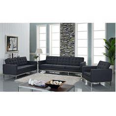Canapé Helly Bobochic Unique Stock Coaster Furniture Dilleston 3 Piece Futon Style Living Room Set