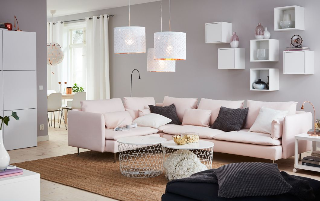 Canape Ikea Modulable Inspirant Images A Medium Sized Living Room Furnished with A Large Corner sofa In A