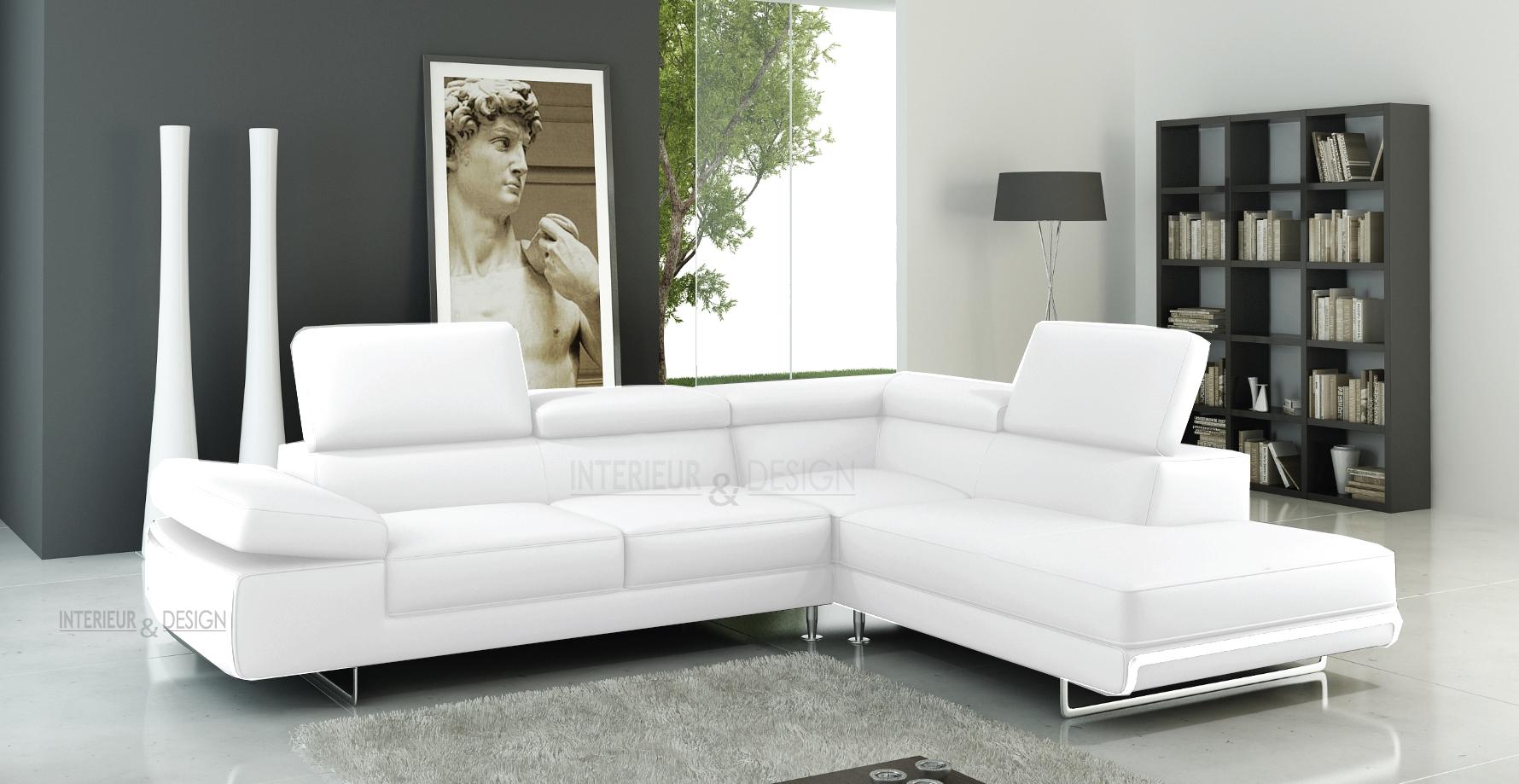Canapé Imitation Cuir Vieilli Frais Photographie Canape D Angle Cuir Blanc Cdiscount