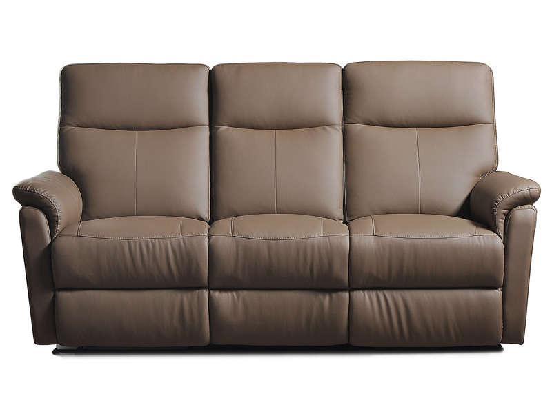 Canapé Lit Convertible Conforama Inspirant Images Canapé Relaxation 3 Places Tranks Coloris Taupe Prix Pas Cher En