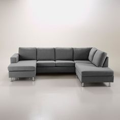 Canapé norsborg Avis Beau Collection Kivik Sectional 5 Seat Hillared with Chaise Hillared Anthracite