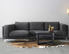 Canapé norsborg Avis Luxe Photos Kivik Corner sofa 4 Seat Hillared Anthracite Pinterest