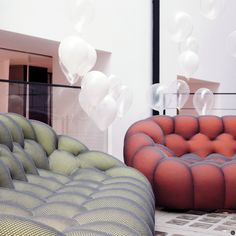 Canapé Roche Bobois Bubble Beau Photos the Symbole sofa In the Newly Opened Roche Bobois tokyo Showroom