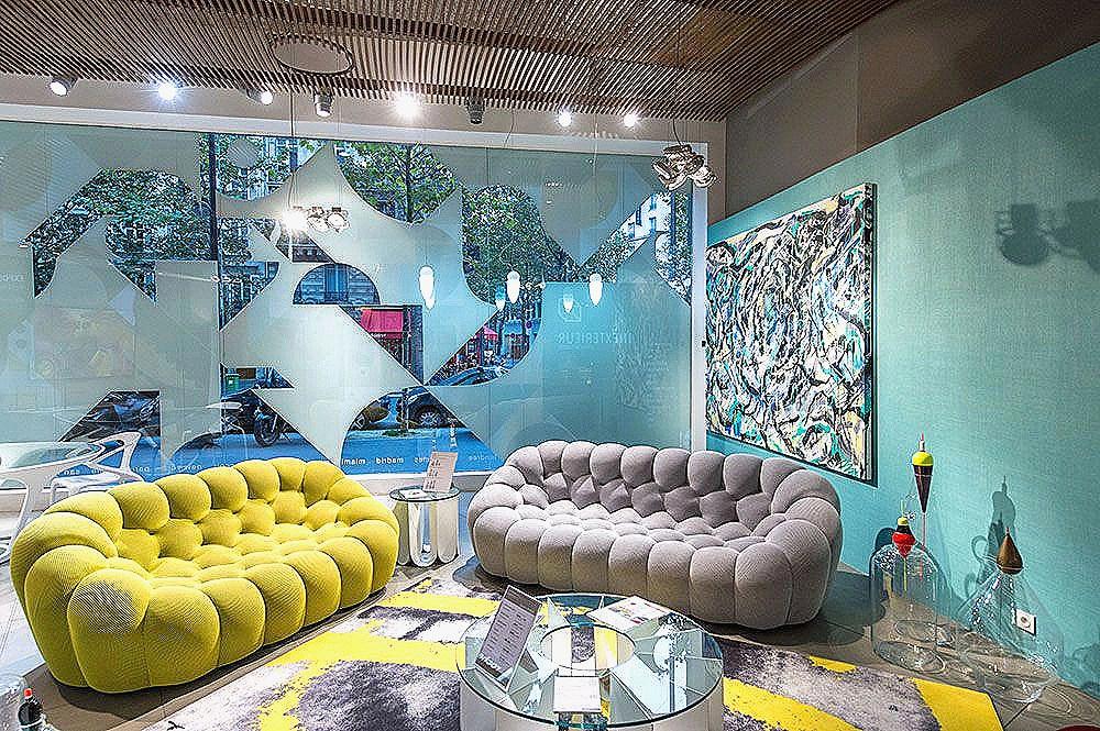66 impressionnant photographie de canape roche bobois. Black Bedroom Furniture Sets. Home Design Ideas