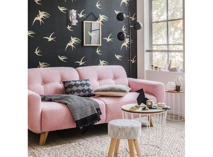 Canapé Simili Cuir Fly Impressionnant Photographie Banquette Convertible Fly Canape Fixe Places Tissu Gris with