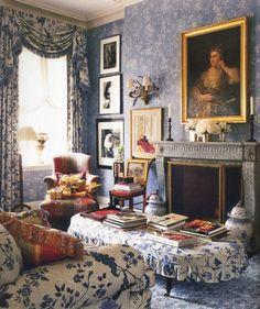Canapé Style Anglais Cottage Frais Galerie épinglé Par Mark D Sikes Sur Red White and Blue