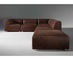 Canape Suedine Marron Beau Photos 50 Idées Fantastiques De Canapé D Angle Pour Salon Moderne