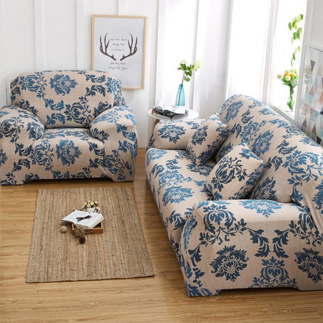 Canape Tissu Style Anglais Impressionnant Collection tout Pris Anti Poussi¨re Stretch Housse De Canapé Mode Imprimé
