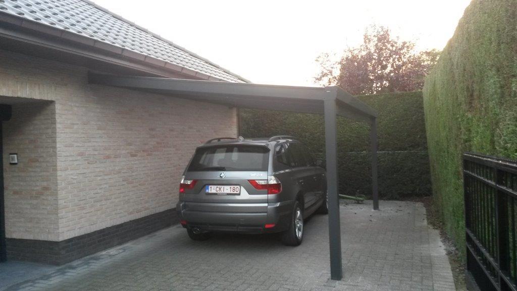 Carport Verona 5000 Gris Beau Photos Carport Alu Belgique Maison Design Wiblia