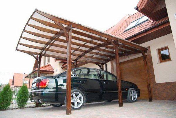 Carport Verona 5000 Gris Beau Photos Modern Garage and Shed Ideas Car Parking Wooden Carport Wood Beams