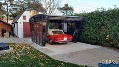Carport Verona 5000 Gris Beau Stock Gazebox Foldable Carport Gazebo Garage for Cars Motors Campers and