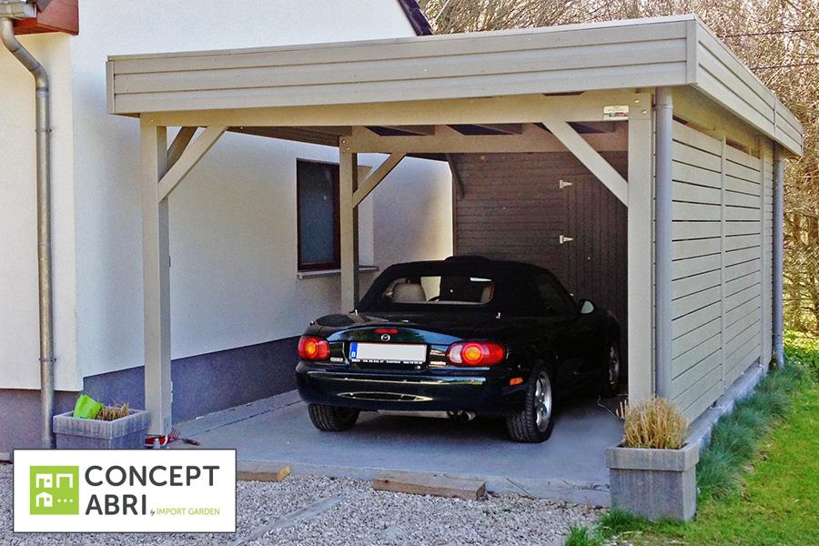 Carport Verona 5000 Gris Inspirant Photos Carport Alu Belgique Maison Design Wiblia