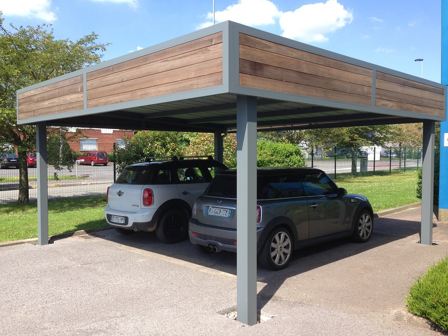 Carport Verona 5000 Gris Nouveau Image Carport Alu Belgique Maison Design Wiblia