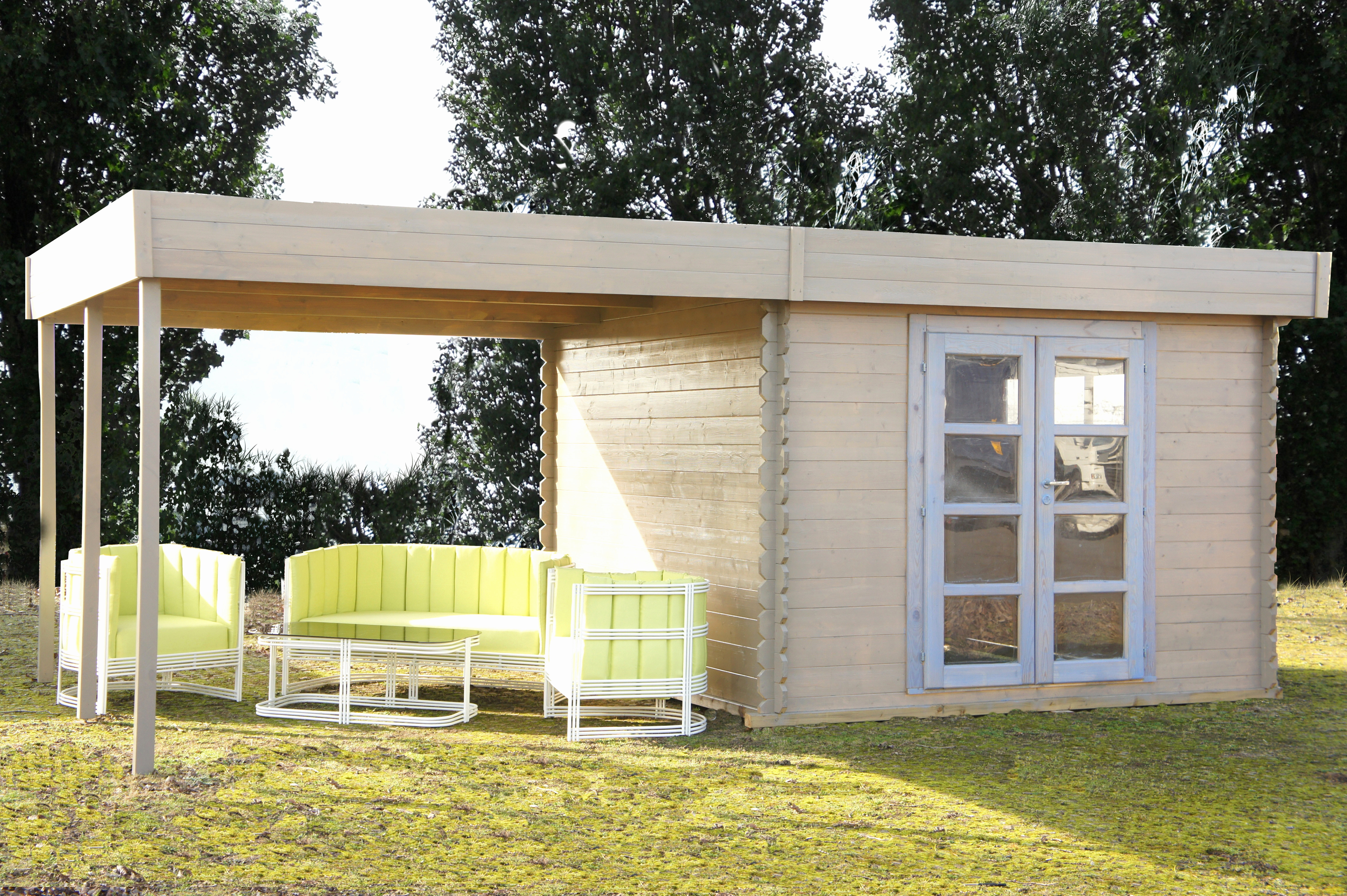 Carrefour tonnelle De Jardin Beau Photos Chalet De Jardin 20m2 Aussi Beau Chalet toit Plat Habitable Chalet