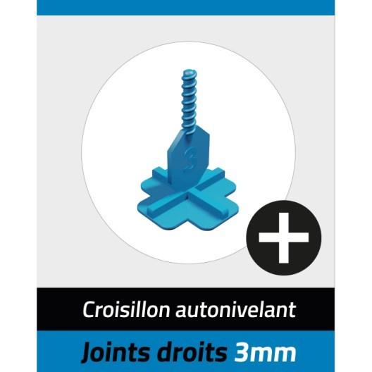 Carrelage 3d Leroy Merlin Beau Photographie Kit Autonivelant Croisillons Et Cadrans Pavilift En Croix 3 Mm