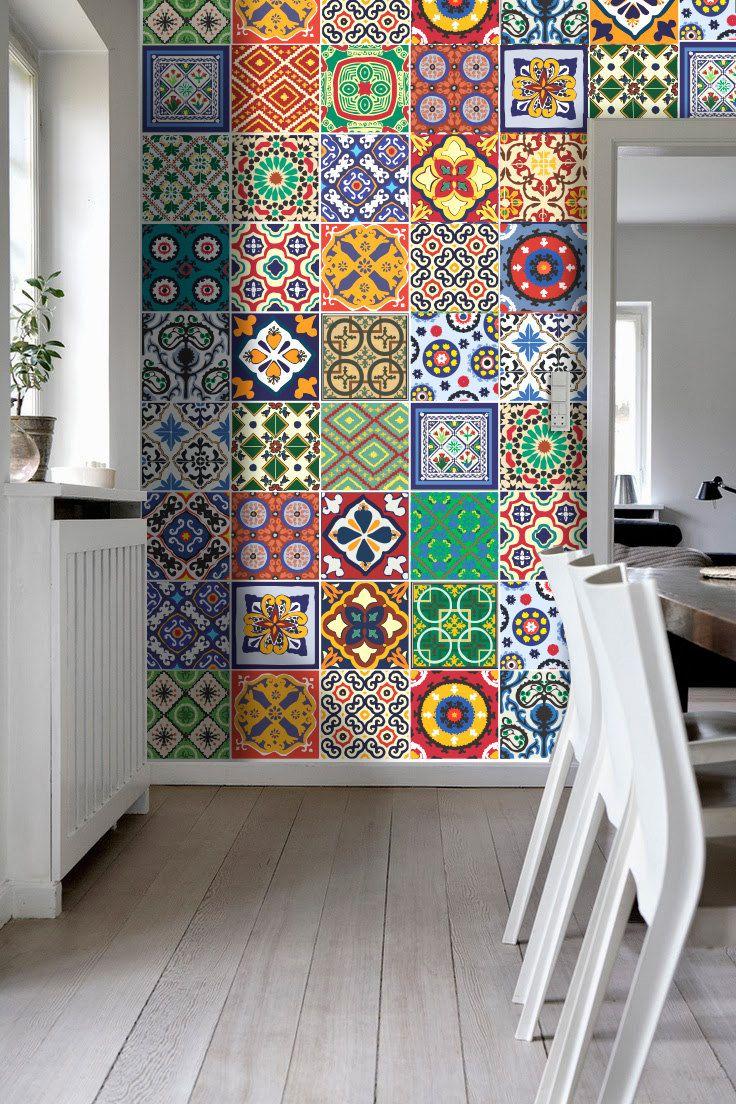 Carrelage Adhésif Salle De Bain Brico Depot Luxe Photos Autocollant Carrelage Cuisine Avec Talavera Special Tile Stickers