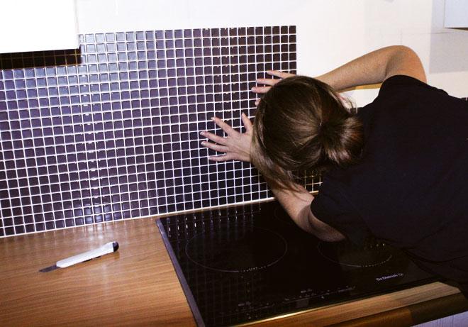 Carrelage Adhésif Salle De Bain Castorama Élégant Photos Revetement Adhesif Pour Meuble De Cuisine Idées Inspirées Pour La