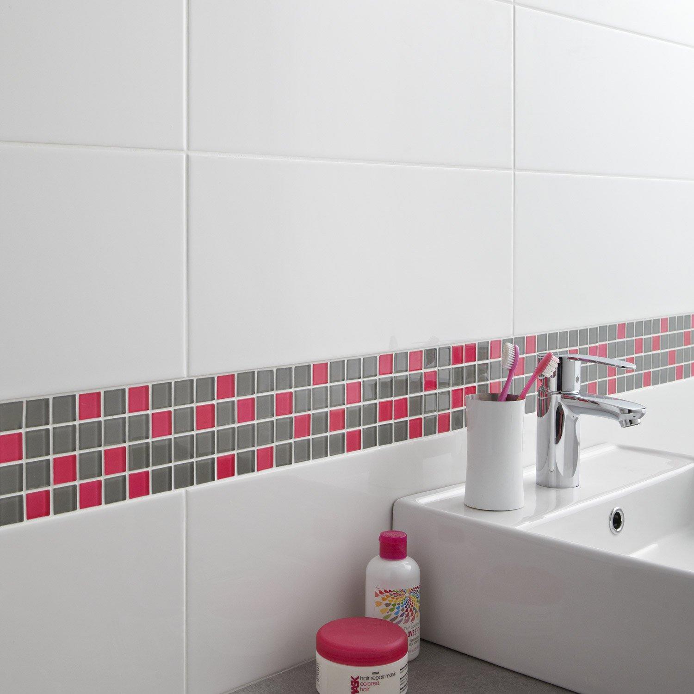 Carrelage Adhésif Salle De Bain Castorama Impressionnant Photos Ides Dimages De Carrelage Adhsif Mural Ikea