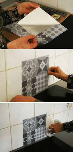 Carrelage Moderne Texture Élégant Image Carrelage Mural Posez Le Sans Colle Ni Poussi¨re
