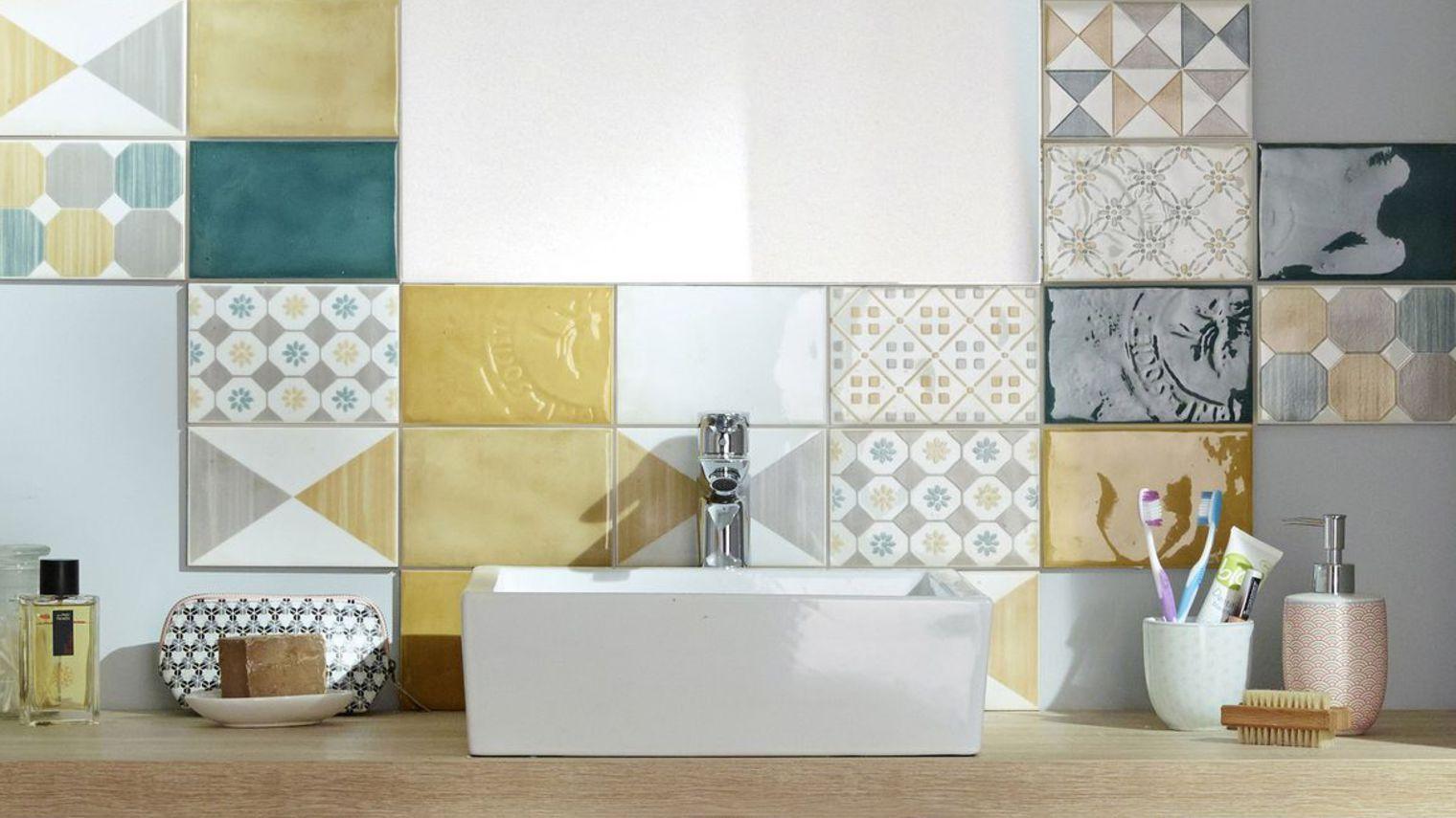Carrelage Mosaique Castorama Beau Stock élégant Kasanga Meuble Miroir Salle De Bain Castorama 8 Mosaique for