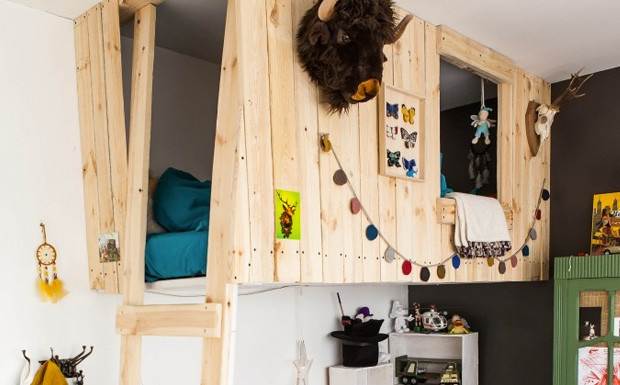 Carrousel A Epice Ikea Luxe Photographie Moderne Contemporain Chambre Mezzanine – Ideededesigndeinterieur