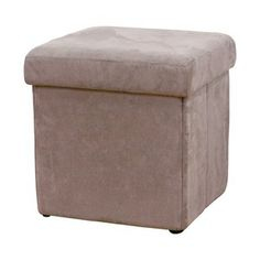 Catalogue La Foir-fouille Luxe Stock Pouf Coffre Cube 38 X 38 X 37 Cm Marron 19 99€ La Foir