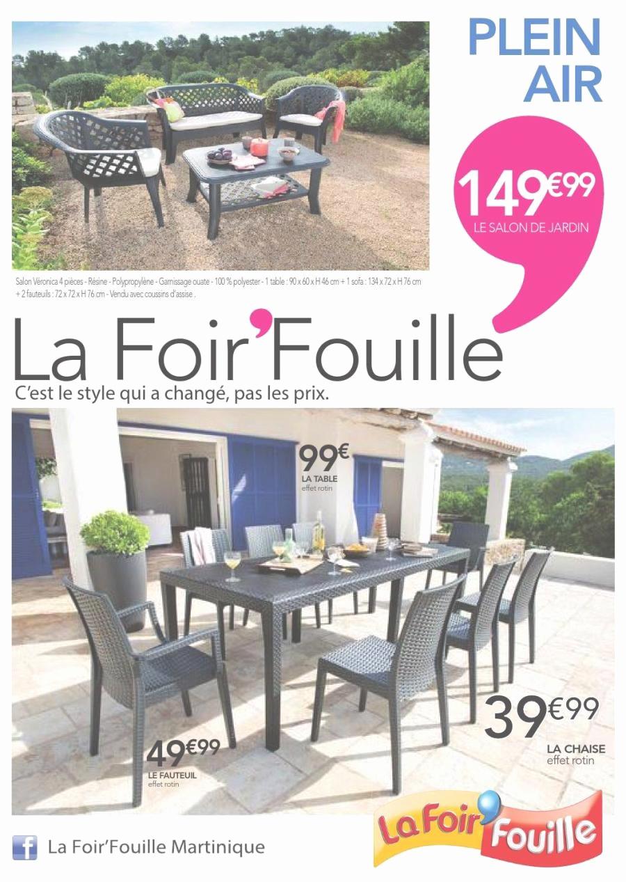Catalogue La Foirfouille Beau Image 45 élégant Graphie De Mobilier De Jardin La Foir Fouille