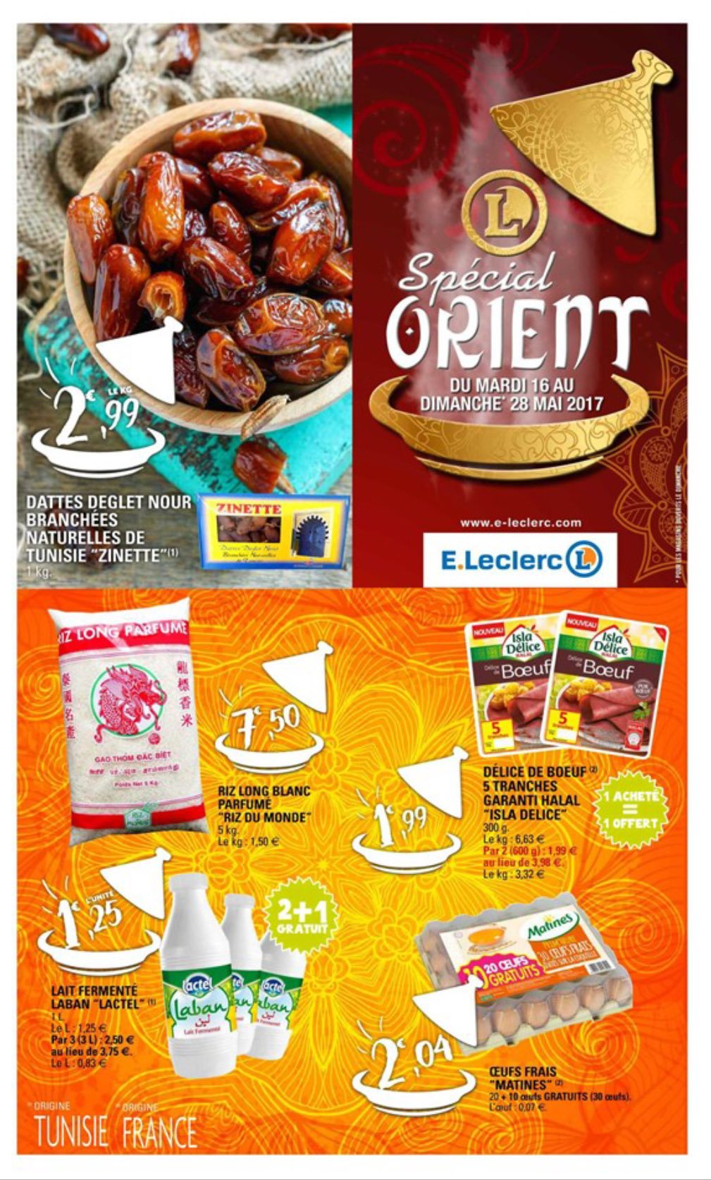 """Catalogue Leclerc Jardin 2017 Beau Photographie Al Kanz On Twitter """" Ramadan Second Catalogue Leclerc orient Pas"""