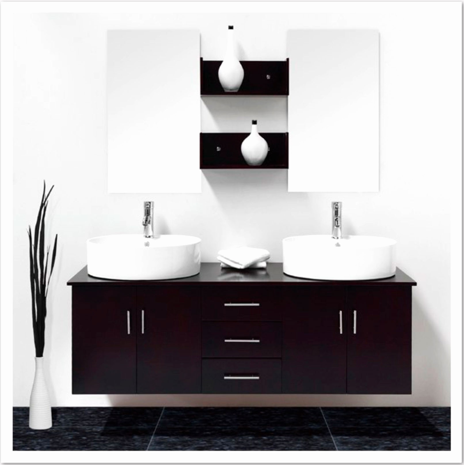 Cedeo Meuble Salle De Bain Beau Image Meuble Pour Vasque 17 De Salle Bain Sans Nouvelles Idees A Poser