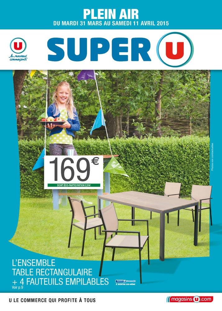 Chaise Pliante De Jardin Super U | Schiebegardinen Ideen