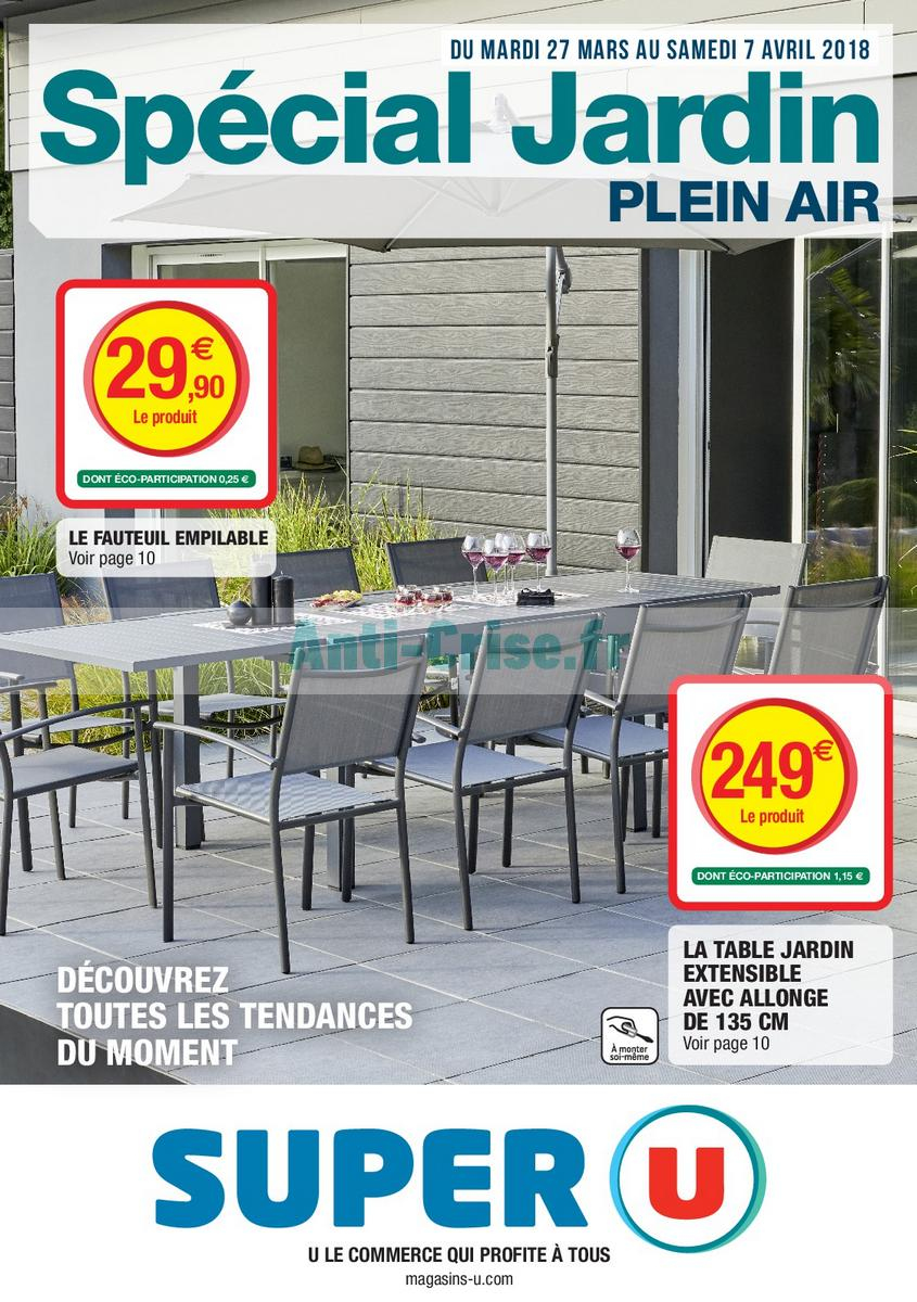 Emejing Salon De Jardin Noir Super U Ideas - House Design ...
