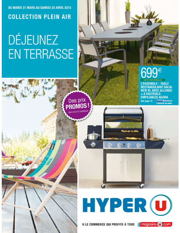 Chaise De Jardin Super U Beau Collection Table De Jardin Super U ...