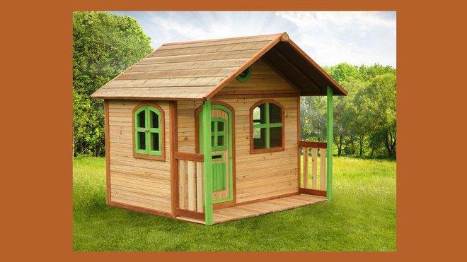 Chalet Bois Leroy Merlin Élégant Photos Une Cabane Pour Enfants Dans Le Jardin