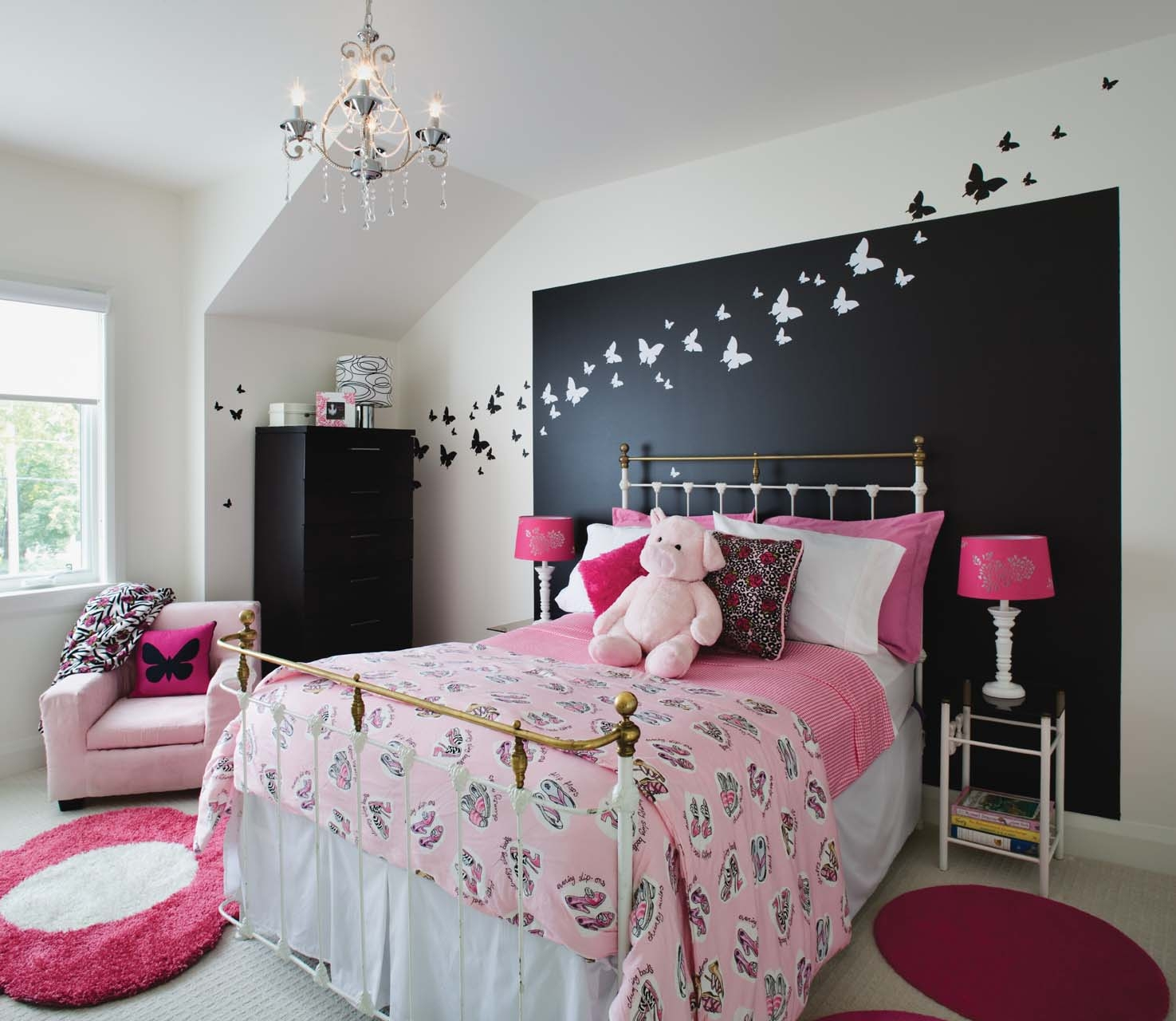 Beautiful Chambre Ado Fille Moderne Violet Beau Image Chambre Ado Fille  Swag Idees De Dcoration With Chambre Swag Ado