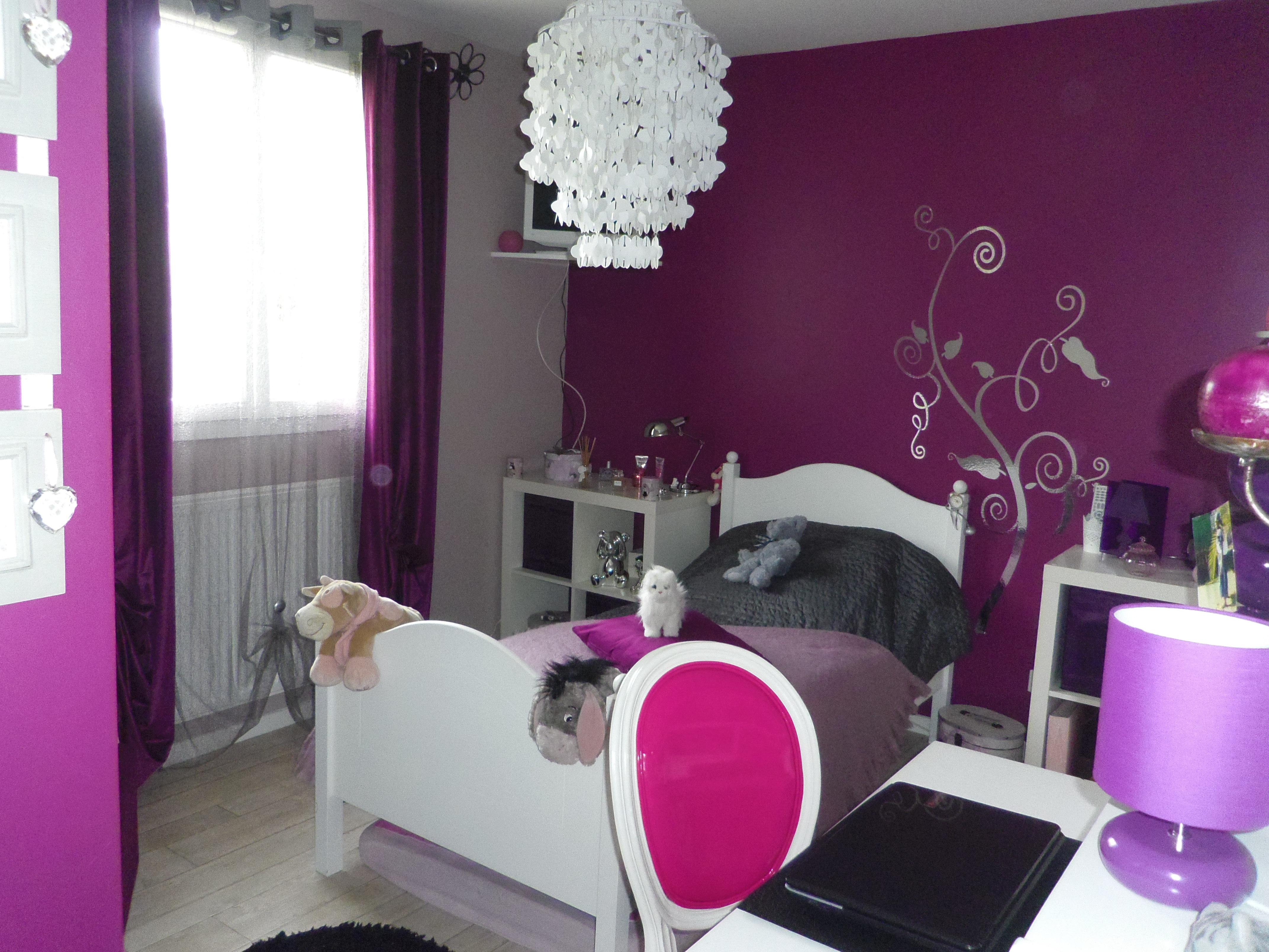 65 Impressionnant Images De Chambre Ado Fille Moderne 2013 Violet