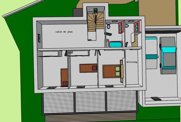 Chambre Avec Salle De Bain Et Dressing Frais Photos 18 Image Plan Suite Parentale Dressing Salle D Eau