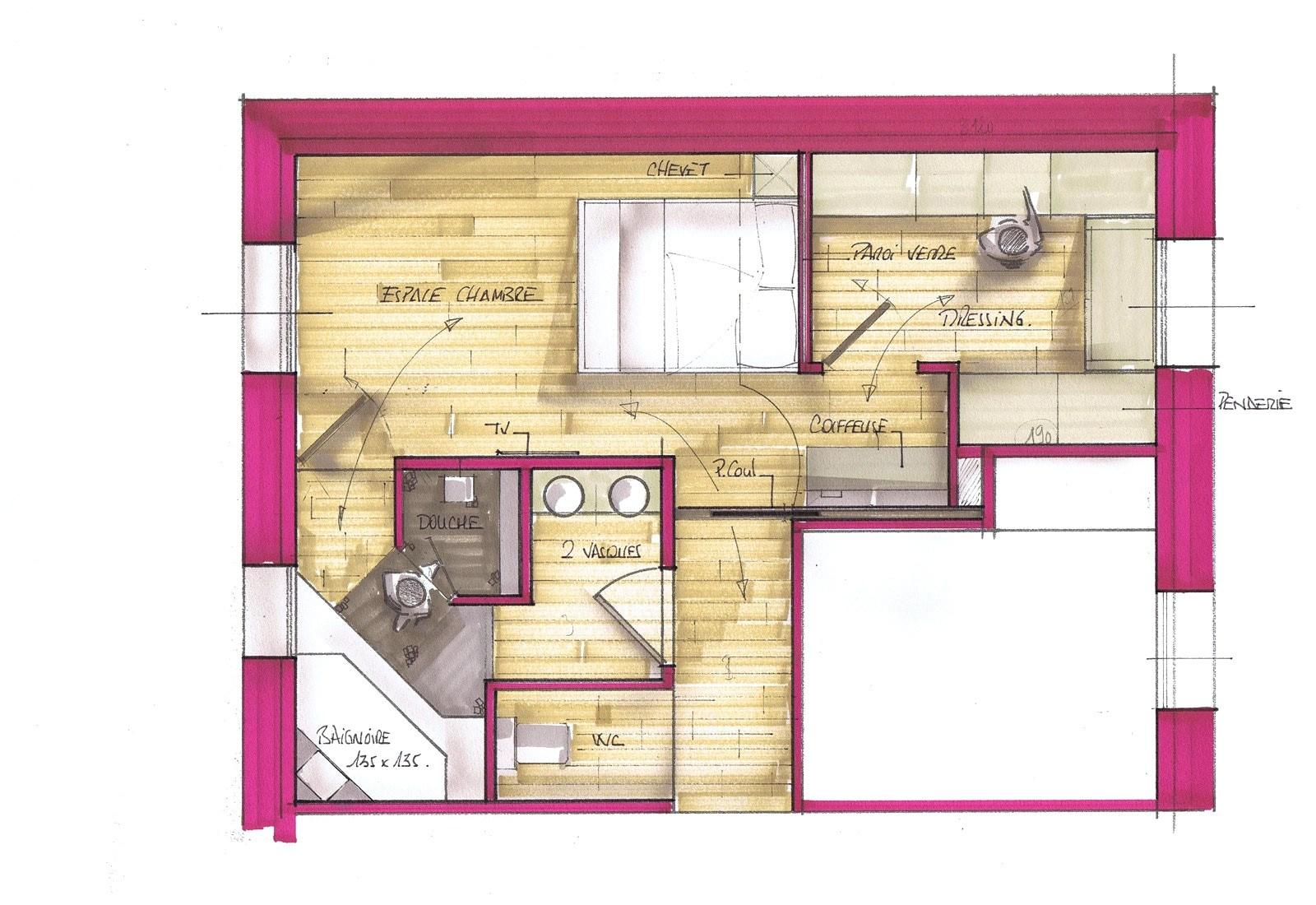 Chambre Avec Salle De Bain Et Dressing Meilleur De Image Suite Parentale Avec Salle De Bain Et Dressing 20m2 Adorable Suite