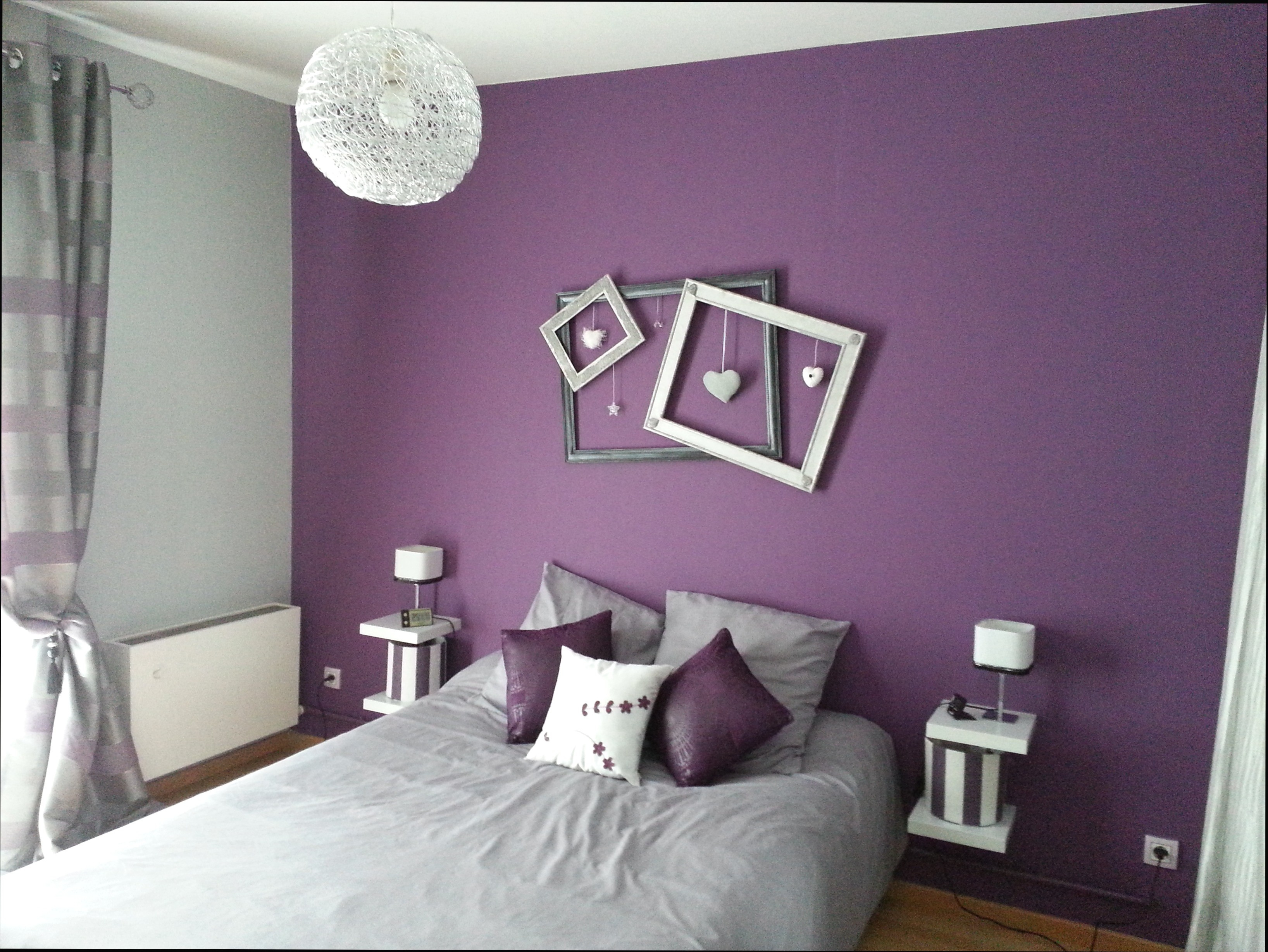 Chambre Violet Gris Beau Galerie Peinture Gris Et Violet Salon Gris Fonc Peinture Gris Et Violet