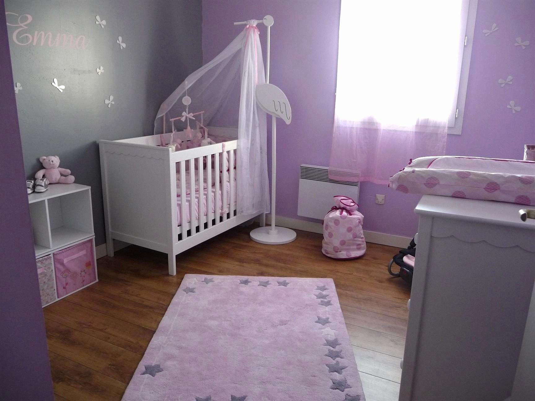 Chambre Violet Gris Élégant Image Deco Chambre Fille Rose Ides Dimages De Chambre Fille Violet Et Rose