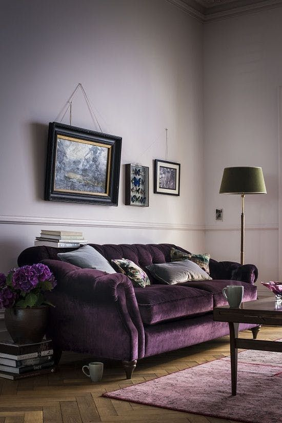 Chambre Violet Gris Luxe Photos Match Point 10 Rooms Proving tone On tone Color Works
