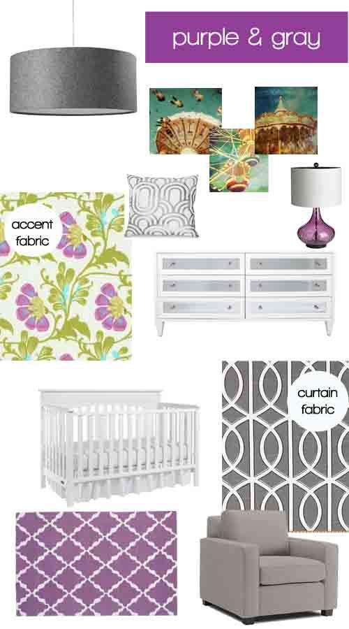 Chambre Violet Gris Meilleur De Photographie Cardigan Junkie Dream Decorating Purple & Gray Nursery