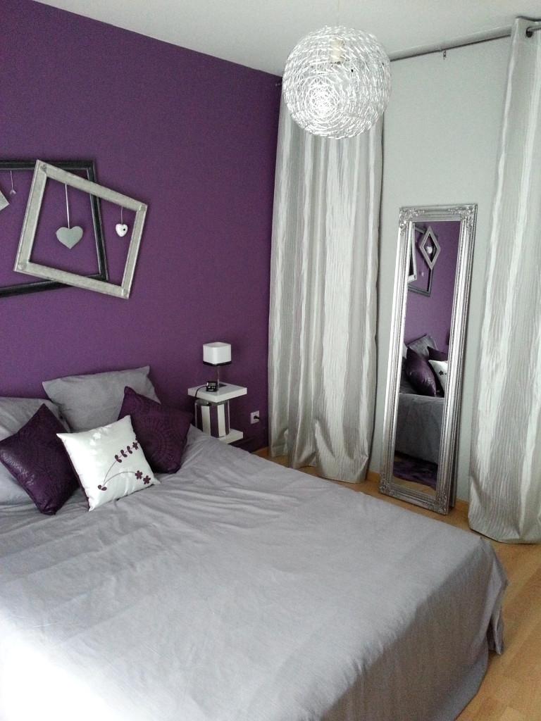 Chambre Violet Gris Frais Image Le Design Malgre Dement