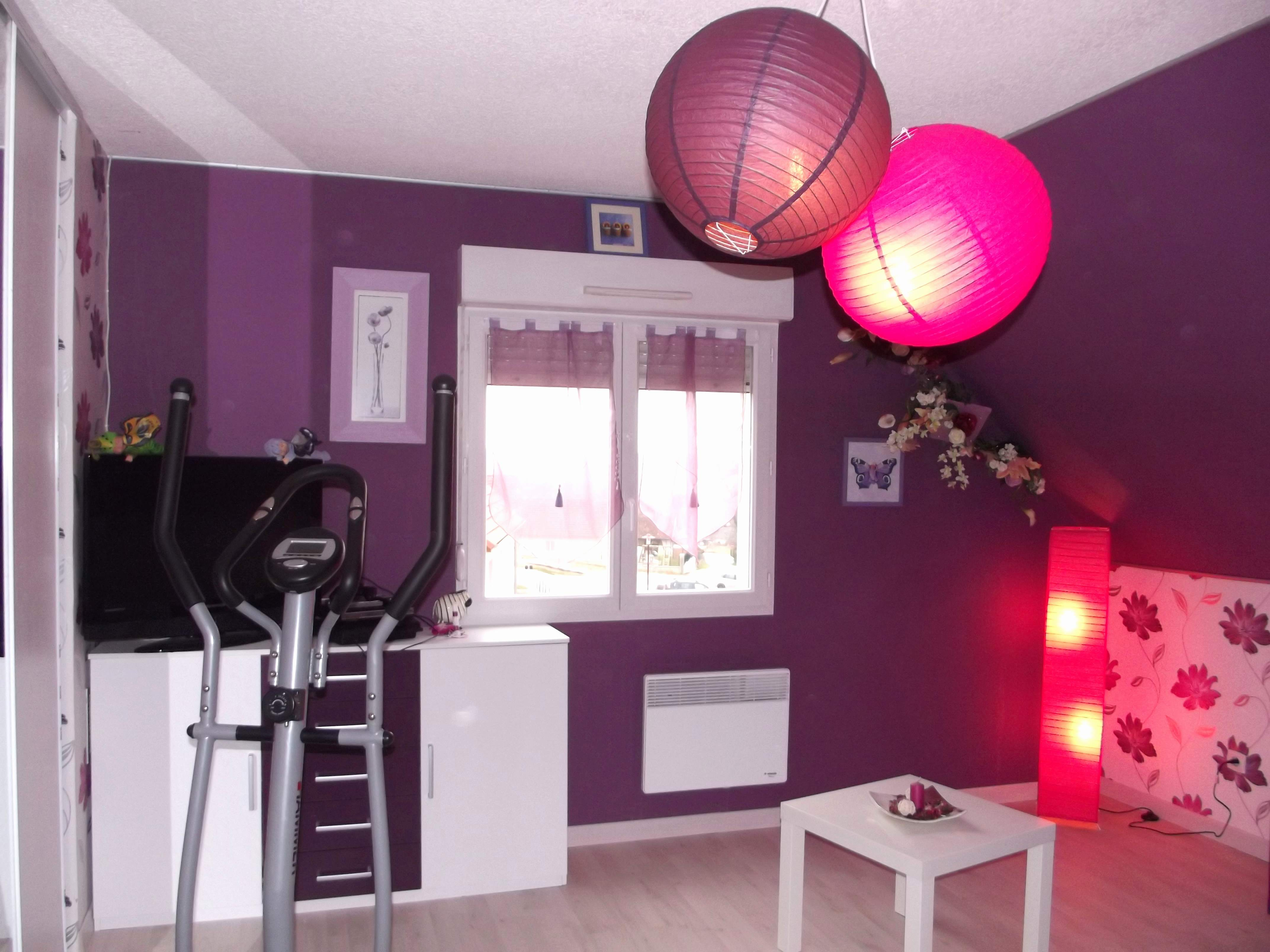 Chambre Violet Gris Impressionnant Photos Déco Chambre Violet Et ...
