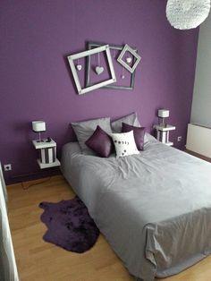 Chambre Violet Gris Unique Image Déco Chambre Violet Et Gris Déco Pinterest
