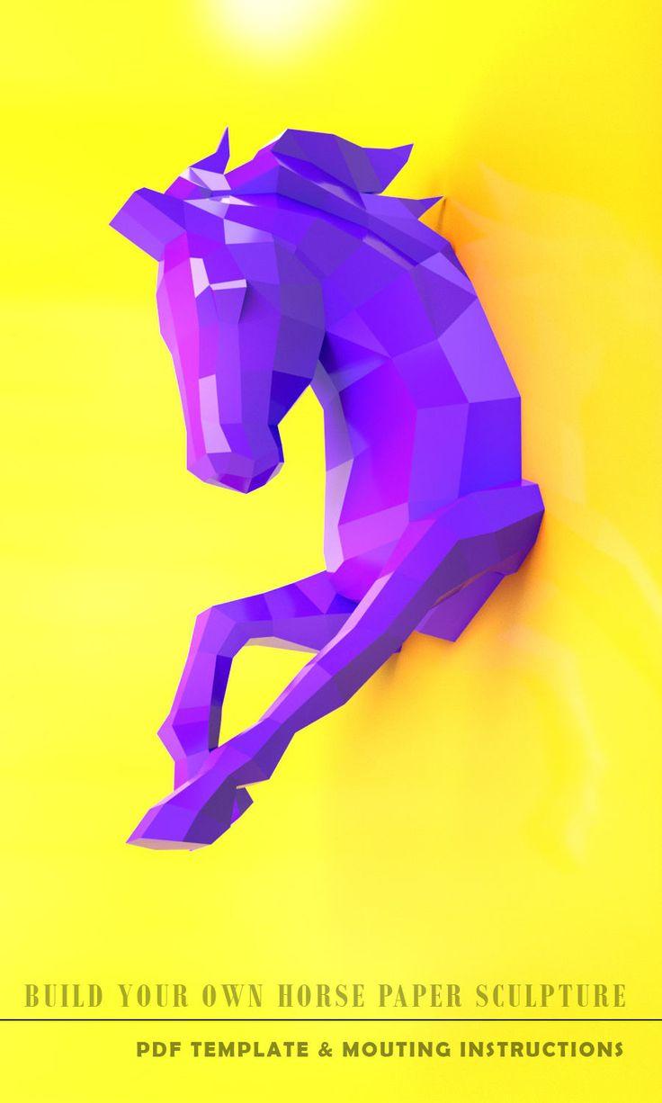 Cheval à Bascule En Bois Ikea Luxe Image Les 16 Meilleures Images Du Tableau Horse Papercraft Sur Pinterest