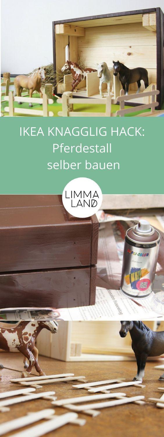 Cheval En Bois Ikea Élégant Collection Pferdestall Selber Bauen Aus Einer Ikea Holzbox