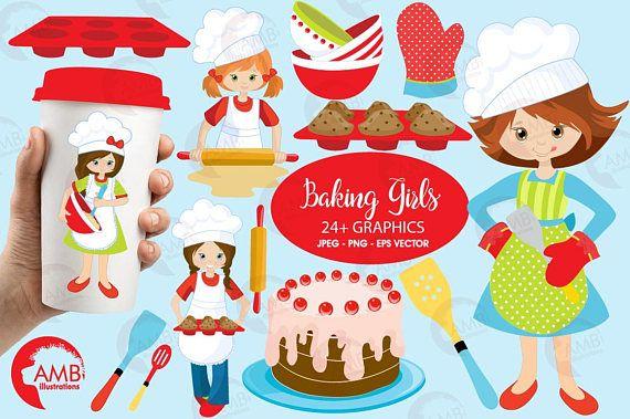 Clipart Ustensiles De Cuisine Luxe Photos Plus De 24 Cliparts Cuisson Y Pris tous Les Chefs De Petite Fille