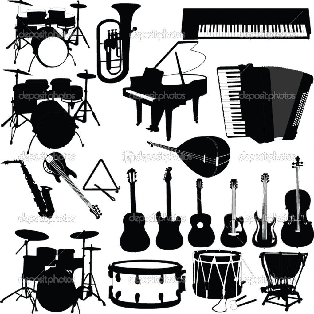 Clipart Ustensiles De Cuisine Nouveau Photos Dep Musical Instruments 1022—1024